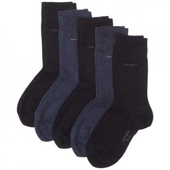 Camano Unisex Ca-Soft Cotton Socks 5 Paar