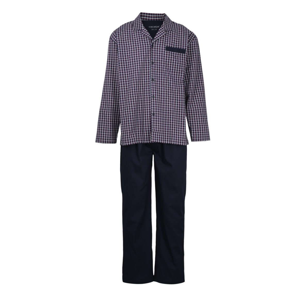 low priced fa1ea 72b2a Ceceba Herren Pyjama lang Value