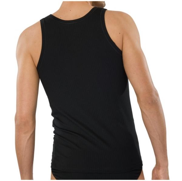schiesser herren shirt 0 0 arm authentic 2er pack. Black Bedroom Furniture Sets. Home Design Ideas