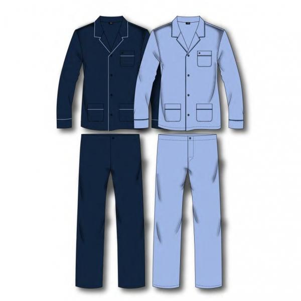 seidensticker pyjama f r herren nachtw sche 100. Black Bedroom Furniture Sets. Home Design Ideas