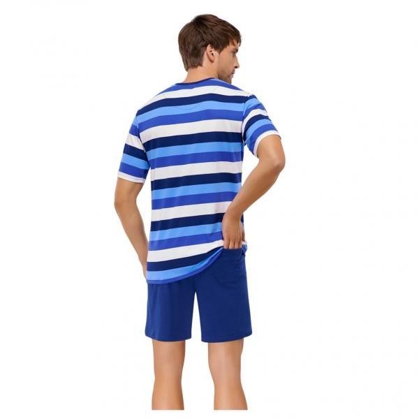 schiesser herren kurzarm schlafanzug siemers online shop. Black Bedroom Furniture Sets. Home Design Ideas